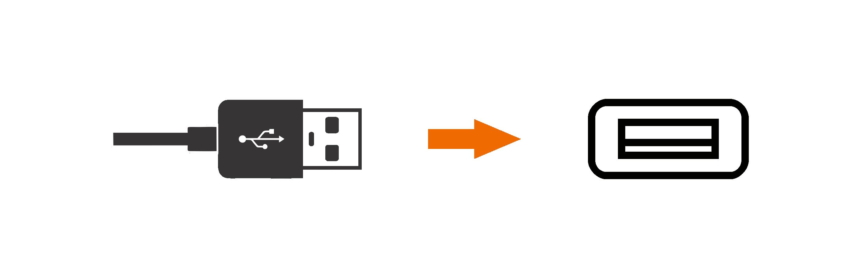 imagem carregador celular usb
