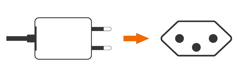 imagem carregador celular
