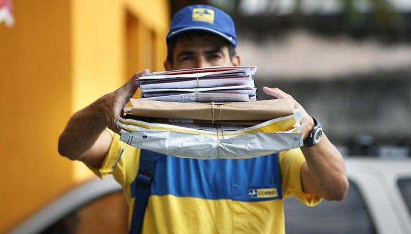 Entregas Correios caixa postal inteligente